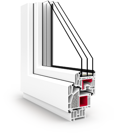 V90+ Energiesparendes Fenster