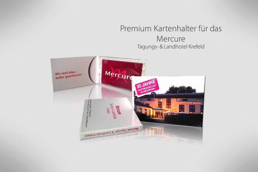 Kartenhalter für das Mercure Krefeld