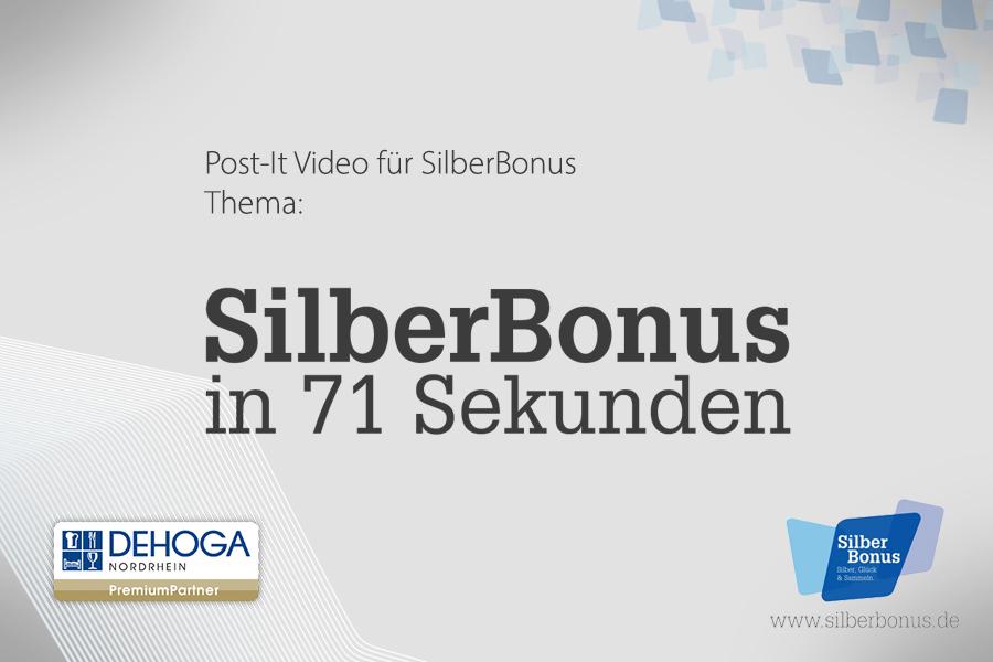 SilberBonus in 71 Sekunden