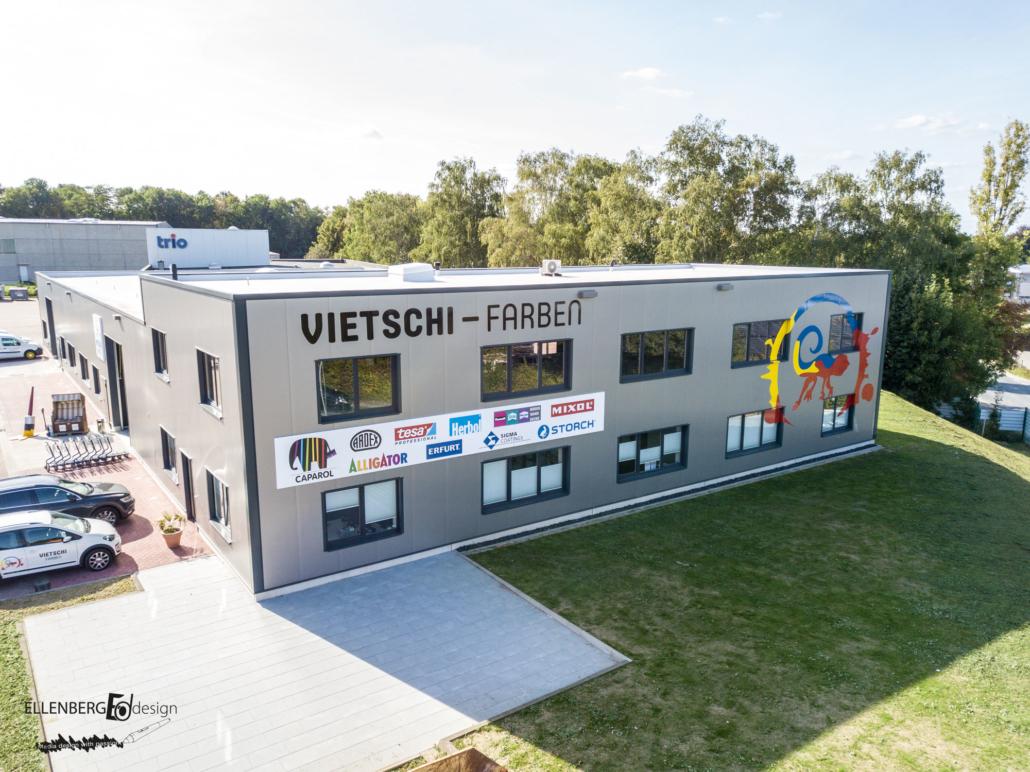 Fassadenfolierung Vietschi Farben