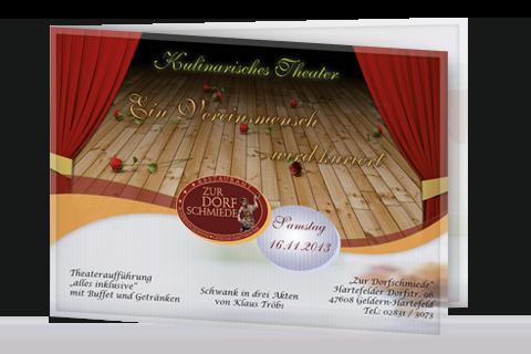 Abendprogramm Theater 2013 - Dorfschmiede