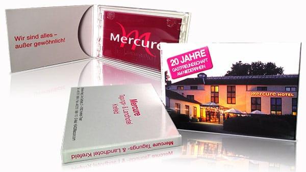 Kartenträger / Kartenhüllen für Mercure Hotels